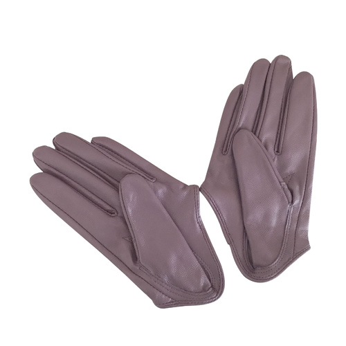 Gloves/Driving/Leather - Lilac