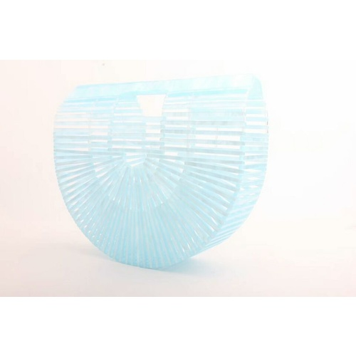 Acrylic Clutch/Bag - Ice Blue