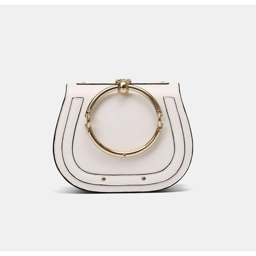 Clutch/Bangle/Saddle - Off White