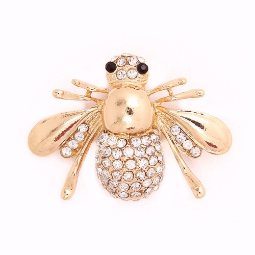 Brooch/Bling Bee - Rose Gold