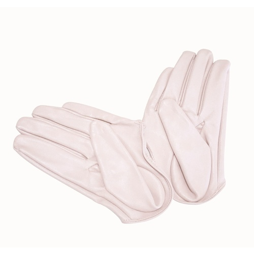 Glove/Driving/Plain - Blush