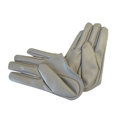 Glove/Driving/Plain - Grey