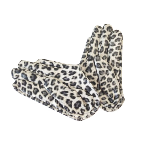 Glove/Driving/Plain - Leopard