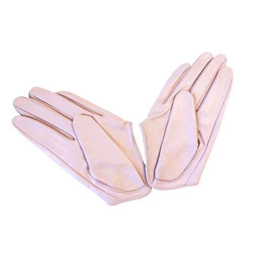 Gloves/Driving/Leather - Pink Blush [Size: Small (17cm)]