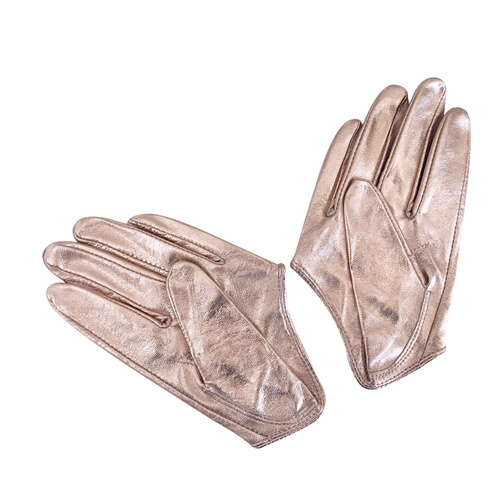 Gloves/Driving/Leather - Rose Gold