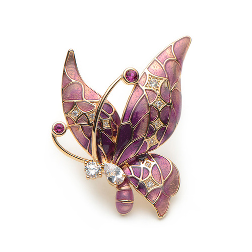 Brooch/Butterfly.02 - Purples