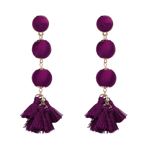 Earring/Style.04 - Magenta