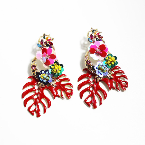 Earring/Style.10 - Red