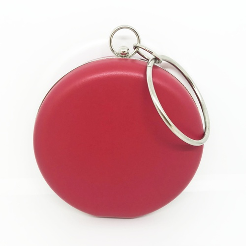 Clutch/Button Bangle - Red