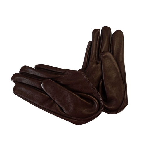 Glove/Driving/Plain - Chocolate