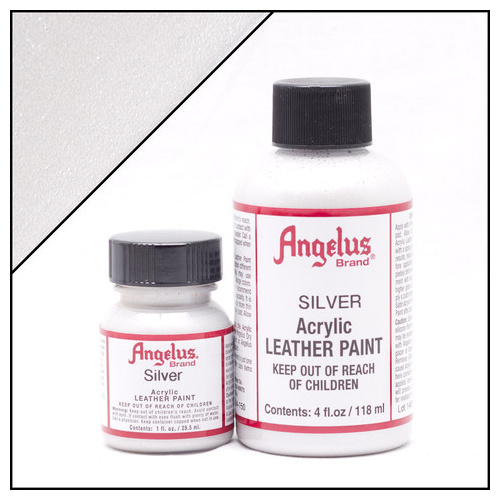 Angelus Leather Paint (29.5mls) - 150 Silver