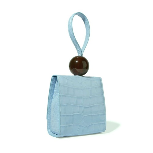 Bag/Big Bead - Blue