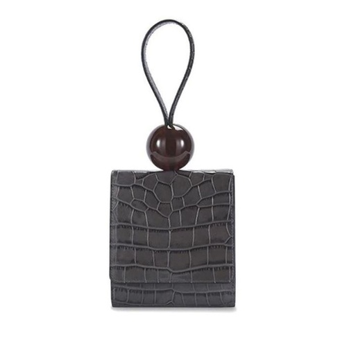 Bag/Big Bead - Charcoal