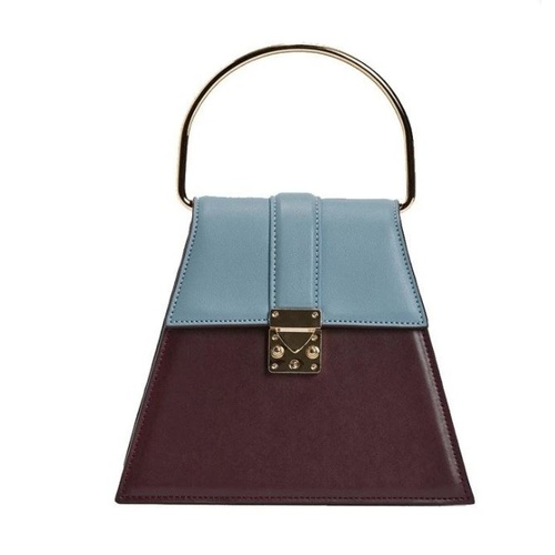 Bag/Bernice - Burgundy/Blue