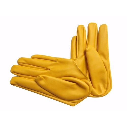 Glove/Driving/Plain - Yellow