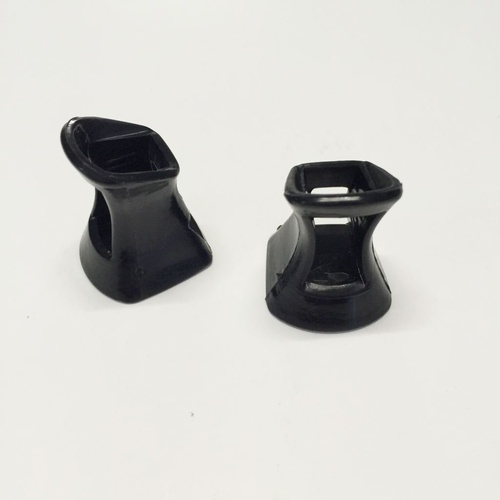 Heel Protectors - Medium/Black