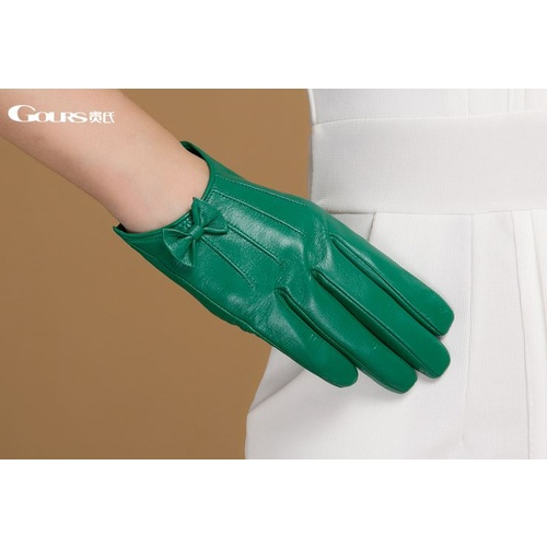 Gloves/Leather/Style 4 - Emerald